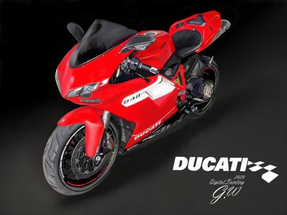 Motorrad Ducati 848