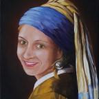 Vermeer, Das Mädchen mit dem Perlohrring (neu verföhnt)