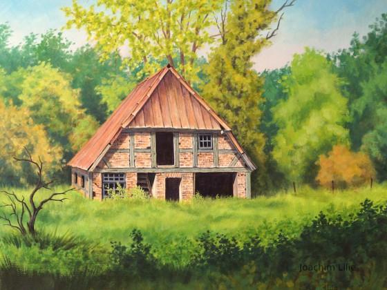 Aufgegebenes Bauernhaus