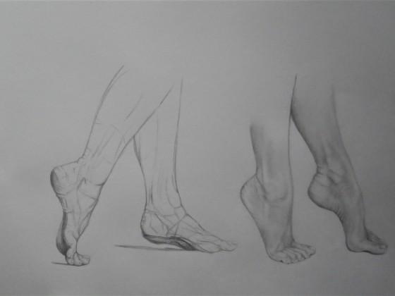 Fußstudie 1