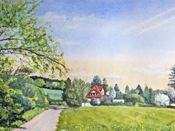 Frühling in der Schwalm (Vogelsberg)