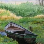 Boot an der Fulda