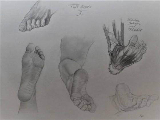 Fußstudie II