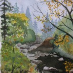Bach im Harz