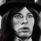 Mick Jagger in jungen Jahren