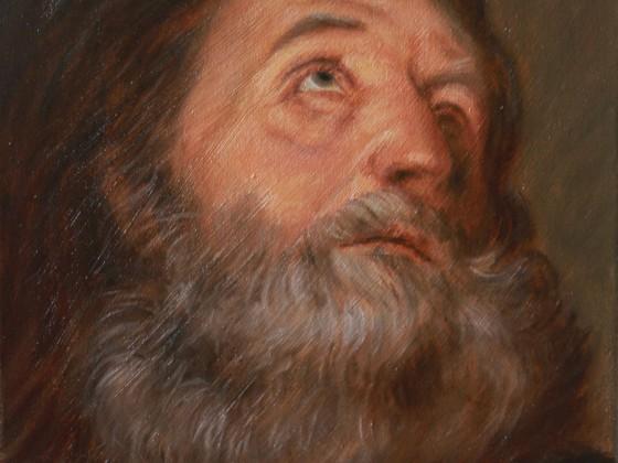 Kopfstudie van Dyck