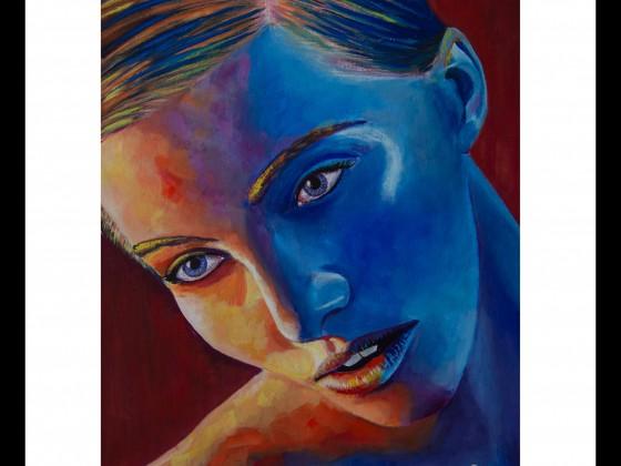 Frauen Portrait Bunt 30082020