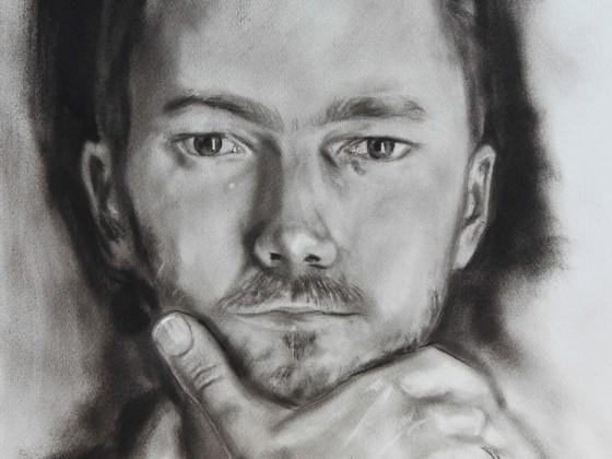 Selbstportrait als junger Mann
