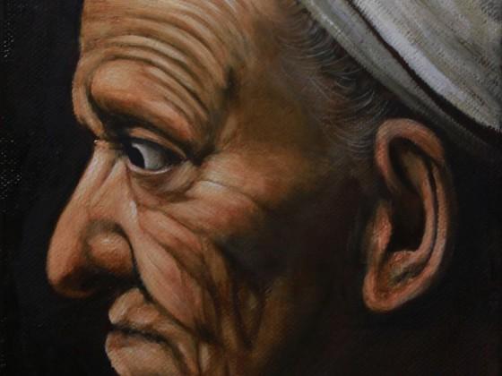 Kopfstudie Caravaggio